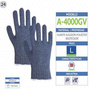 guantes de poliéster de seguridad industrial