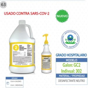 Desinfectante Neutro para COVID